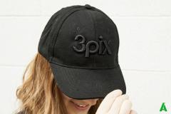 3pix-cap-3d