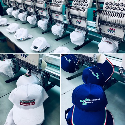 Europena embroidery service for hats