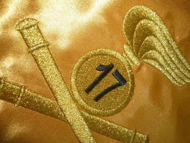 Ricami in oro e argento su tessile