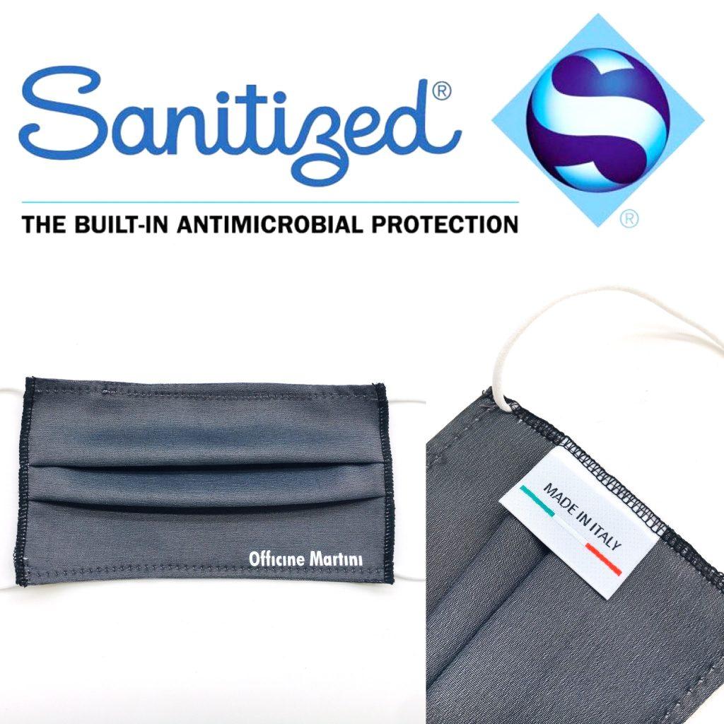 Mascherine antibatteriche personalizzate