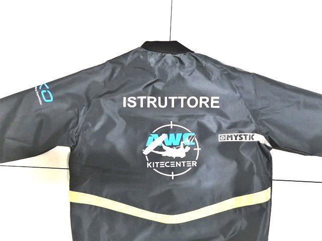 Printed anorak jacket